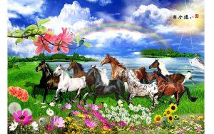 Rèm cuốn tranh, mang cả thế giới thiên nhiên vào ngôi nhà của bạn