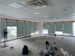 Mẫu rèm văn phòng giá rẻ uy tín chất lượng tại Quốc Oai – Hà Nội